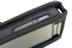 Motorola TC55 Zebra Handheld Case left detail view