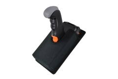 Holster pistol grip carrying case detail front view