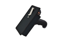 Holster pistol grip carrying case oblique view
