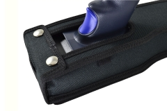Honeywell EDA 60K case hole pistol grip detail