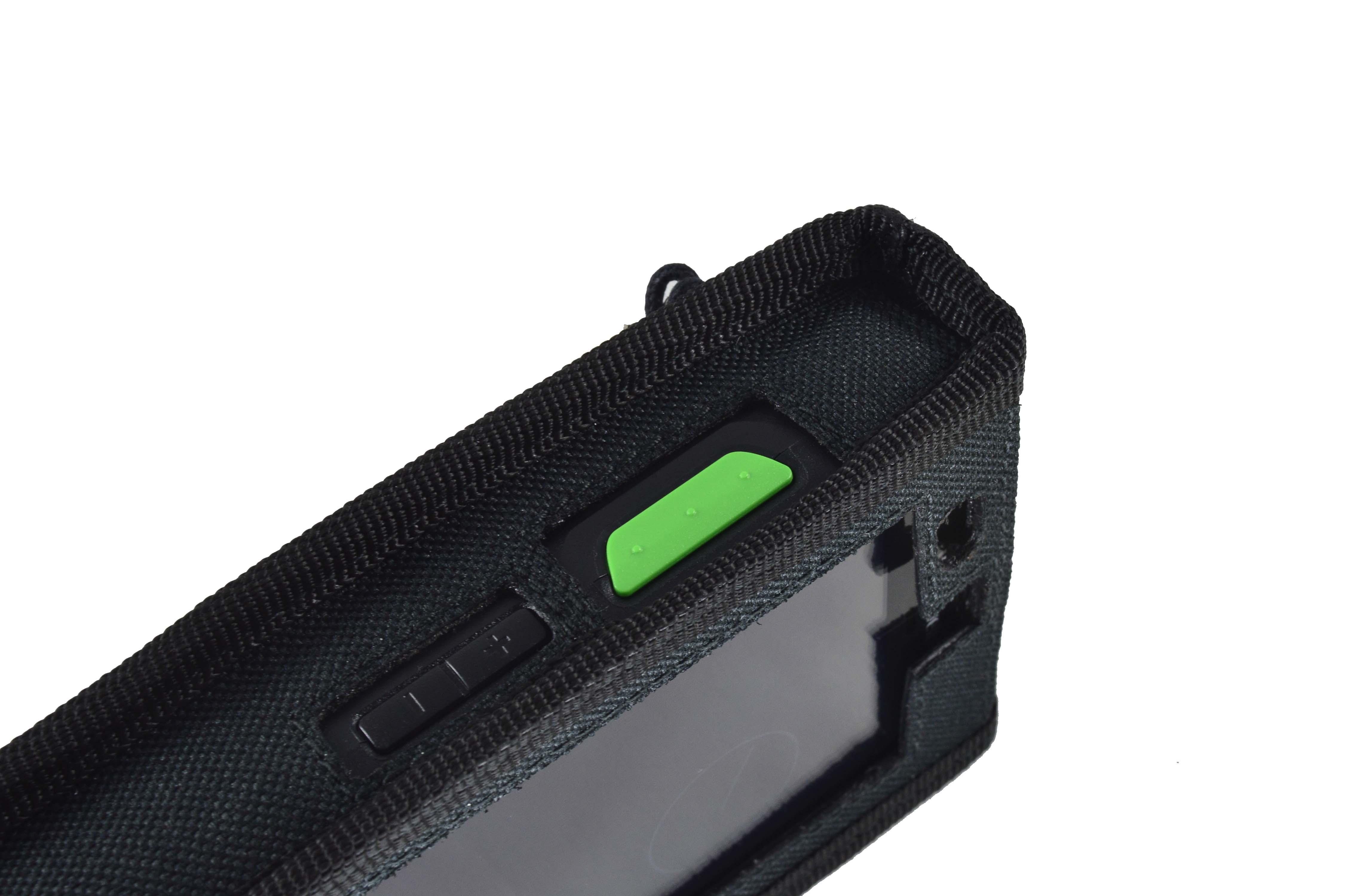 Honeywell ScanPal EDA 50K case left side detail