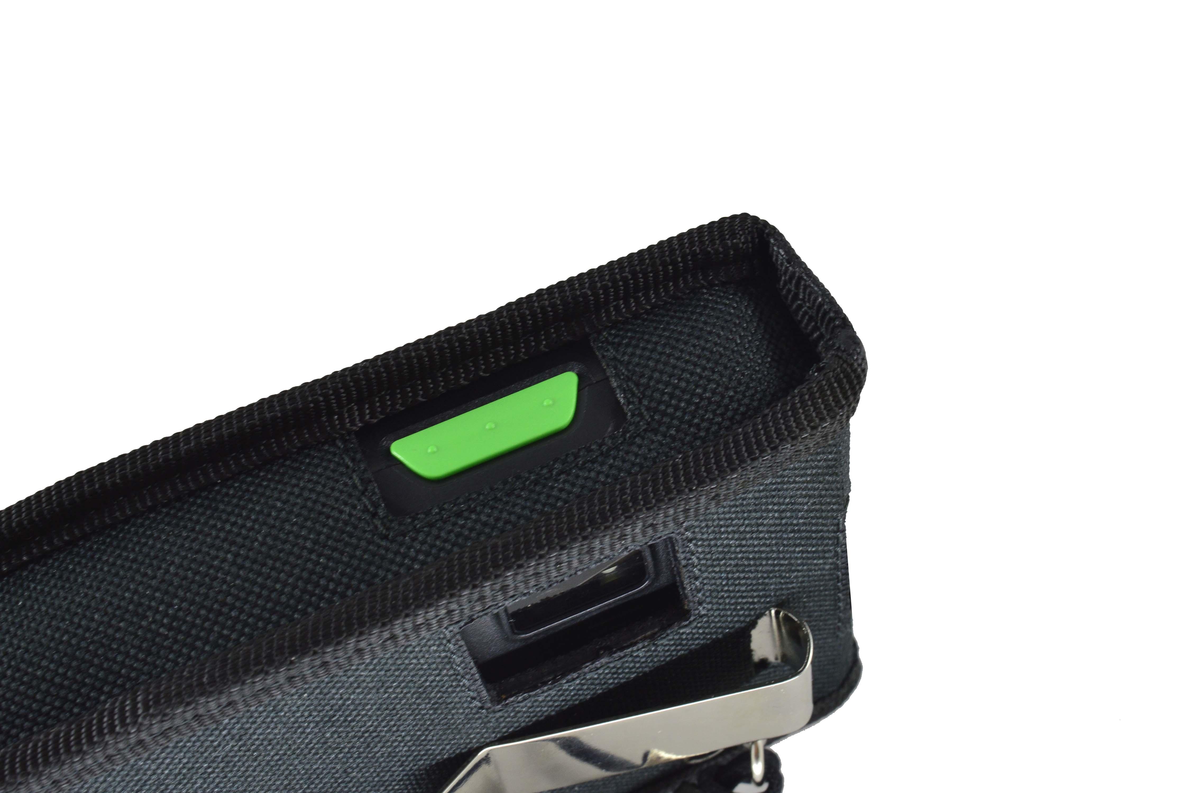 Honeywell ScanPal EDA 50K case right side detail