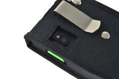 Honeywell ScanPal EDA 50K case belt clip camera hole detail