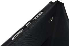 Ipad industrial case detail holes sound charge