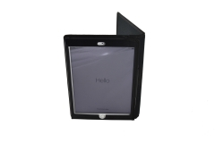 Ipad industrial case vertical fold view