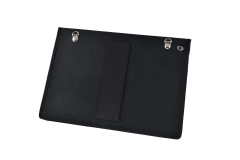Ipad Nylon industrial protective case view back hand strap