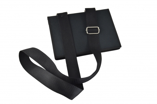 Ipad industrial case view closed shoulder bag