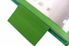 iPad 3 Leather Case flap view