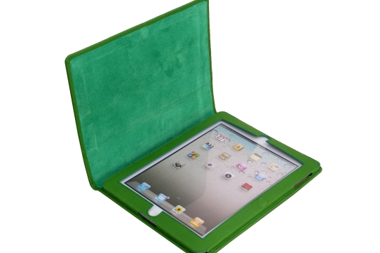 iPad 3 Leather Case open view