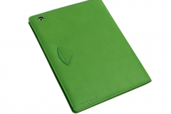 iPad 3 Leather Case rear view detail