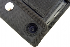 Nexus 7 Nylon Tablet Case camera hole view