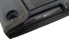 Nexus 7 Nylon Tablet Case side detail