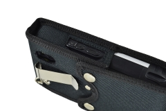 Protective Case Nautiz X4 Handheld left side view belt clip