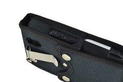 Protective Case Nautiz X4 Handheld left side view belt clip