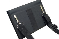 Samsung Galaxy Note 10 Tablet Case rear view shoulder strap