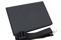 Samsung Galaxy Note 10 Tablet Case closed view shoulder strap