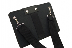 Samsung Galaxy TAB A Tablet Case back view shoulder strap detail