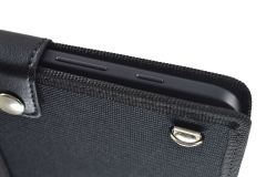 Samsung Galaxy Tab A6 Tablet Case sm-t580 detail buttons hook shoulder strap