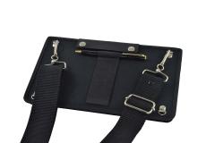 Samsung Galaxy Tab A6 Tablet Case sm-t580 view back shoulder strap portastylus