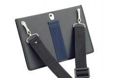 Samsung Galaxy Tab S 10 Nylon Tablet Case shoulder strap view