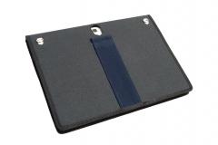 Samsung Galaxy Tab S 10 Nylon Tablet Case rear view detail