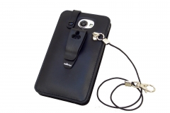 GOCLEVER FONE 500 Leather Case for restaurants back view