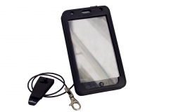 GOCLEVER FONE 500 Leather Case for restaurants second front view