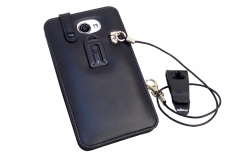 GOCLEVER FONE 500 Leather Case for restaurants rear view