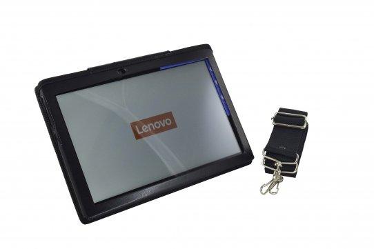 Tablet Case Lenovo Tab3 10 plus front view shoulderstrap