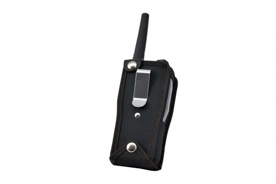 TPH900 handheld mobile Tetrapol radio Airbus case back view