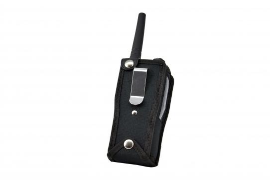 TPH900 handheld mobile Tetrapol radio Airbus case back view