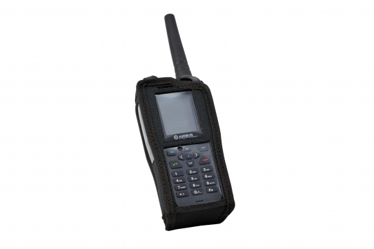 TPH900 handheld mobile Tetrapol radio Airbus case front detail