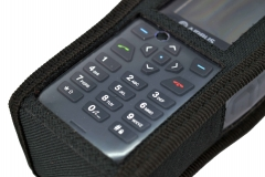 TPH900 handheld mobile Tetrapol radio Airbus case keyboard view