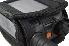 TPH900 handheld mobile Tetrapol radio Airbus case top detail