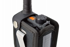 TPH900 handheld mobile Tetrapol radio Airbus case top view