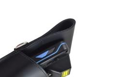 Unitech PA 700 Leather Case view hole belt metal ring
