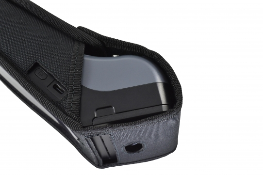 Verifone X990 Case left side view