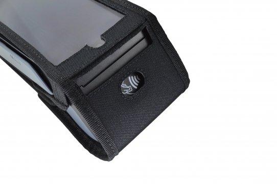 Verifone X990 Case printer slot detail
