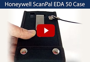 Video Honeywell ScanPal EDA 50 Case