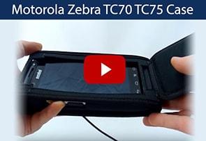 Video Motorola Zebra TC70 TC75 Case