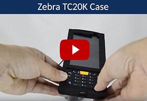 Video Zebra TC20K Case