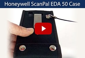 Video Honeywell ScanPal EDA 50 Case